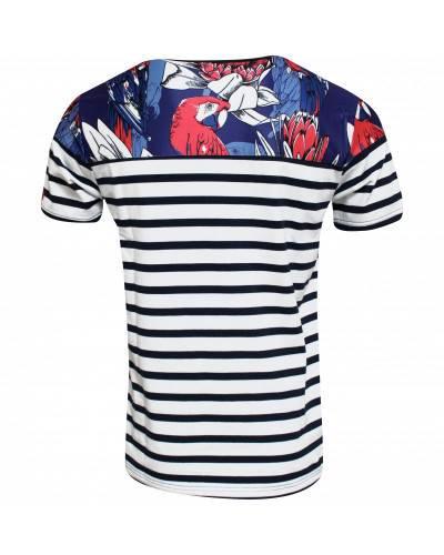 T-shirt rugby Marinière Féria