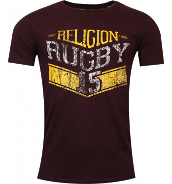 T-shirt rugby indomptable