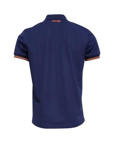 T-shirt de rugby Marinière à la rose