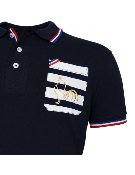 Polo de rugby Royal Navy - Marine
