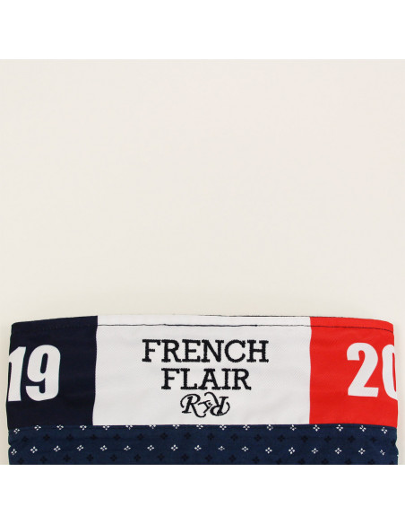 Polo rugby French Flair - Marine