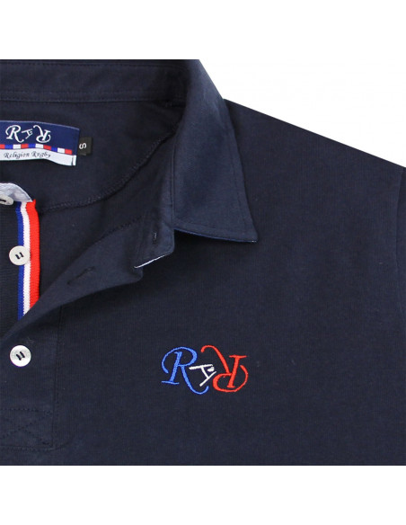 Polo rugby Wave - Marine