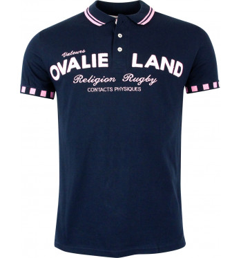 Polo rugby Ovaliland - Marine