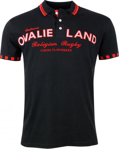 Polo de rugby Toulonnais - Noir