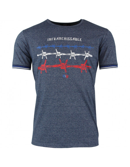 T-shirt rugby Infranchissable