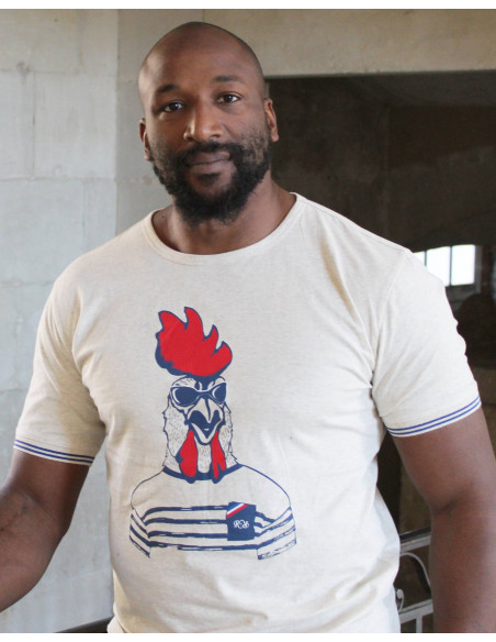 T-shirt rugby Fashion rooster