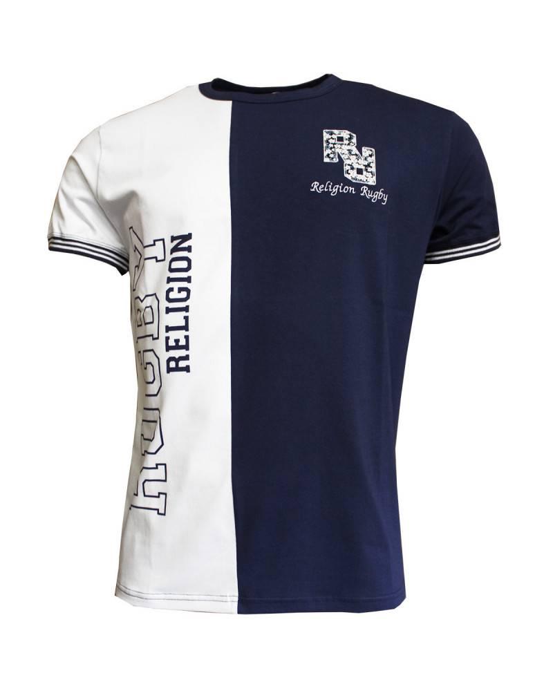 T-shirt de rugby Sang noir et Coeur rouge
