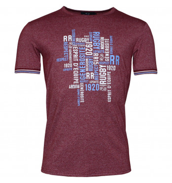 T-shirt rugby Cryptogramme