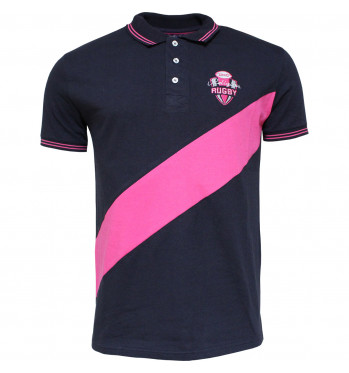 Polo rugby de Pink Rugby - Marine
