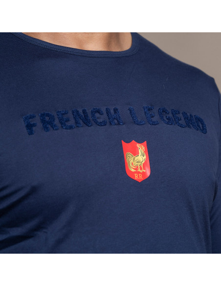 T-shirt de rugby French Legend