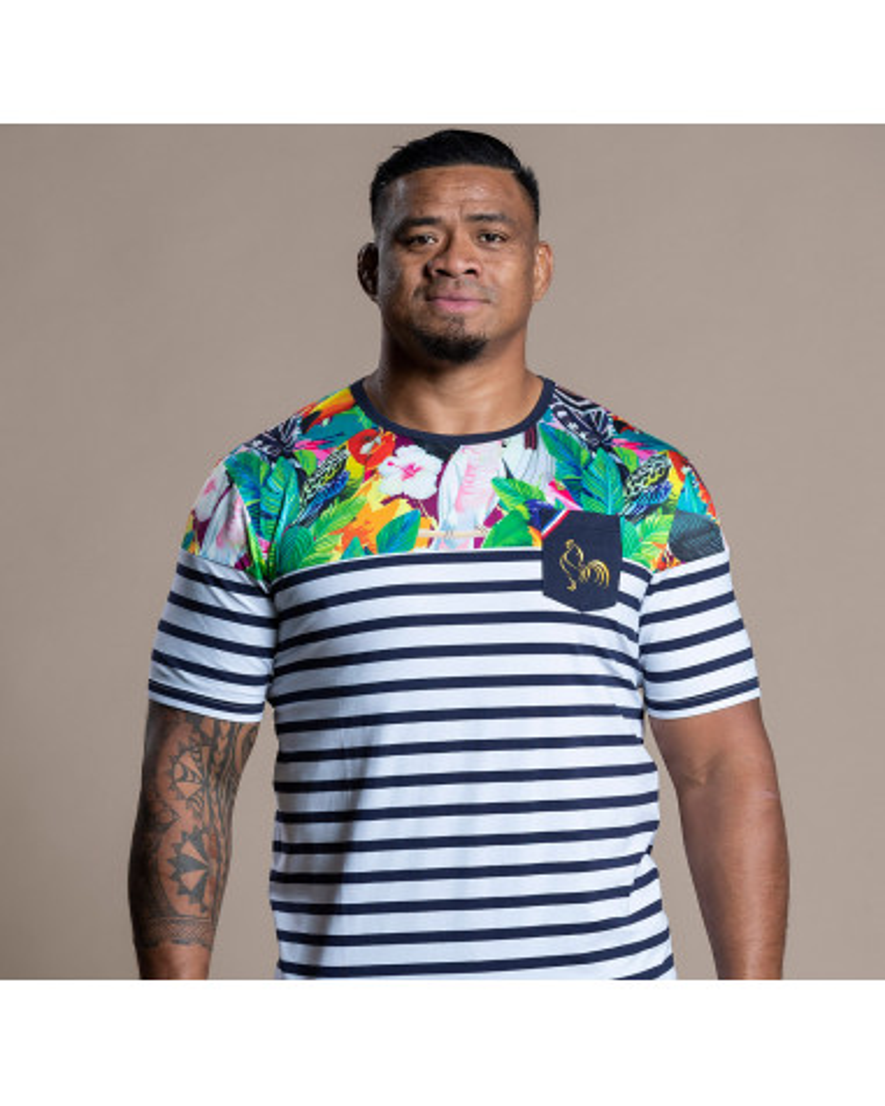 T-shirt Marinière Tekori Maori - Joe Tekori