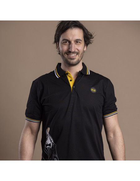 Polo Rooster Rugby Blazer - noir