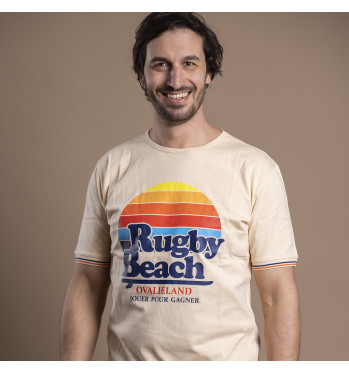 T-shirt Rugby Beach