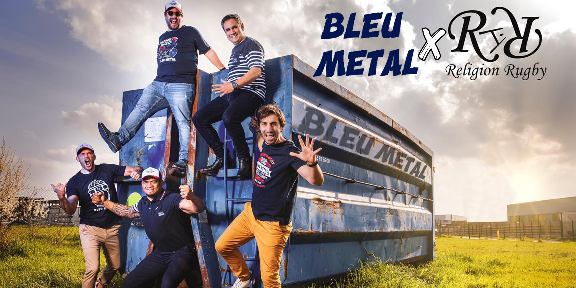 Collection Bleu Metal