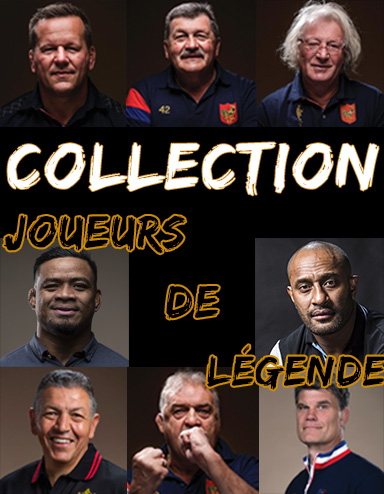 Collection Joueurs de Légende t-shirt rugby polo rugby sweat rugby chemise rugby sport