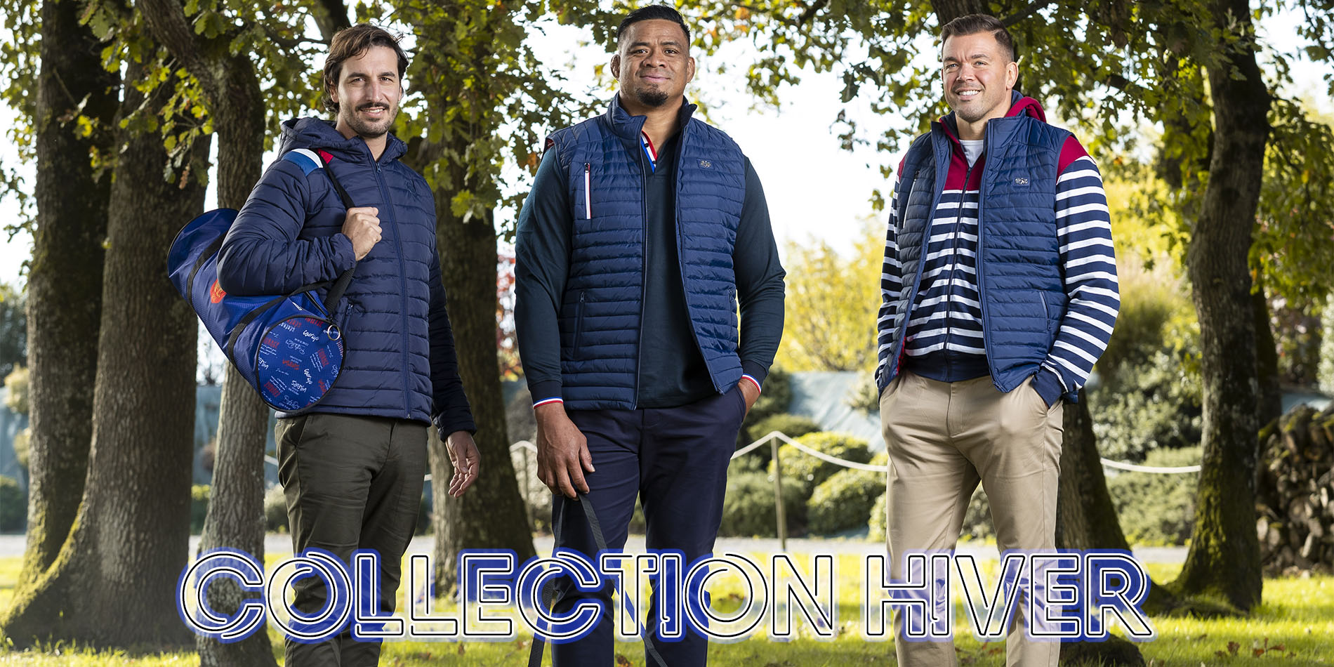Collection Hiver Doudounes Pulls Sweats Polos