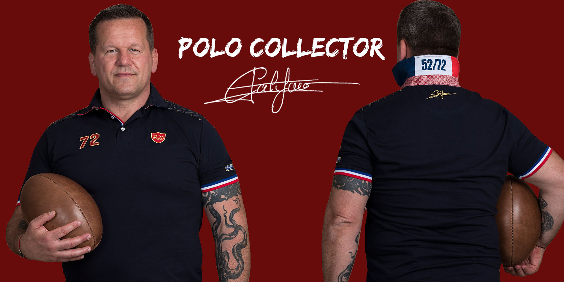 Polo de Rugby Collector Califano